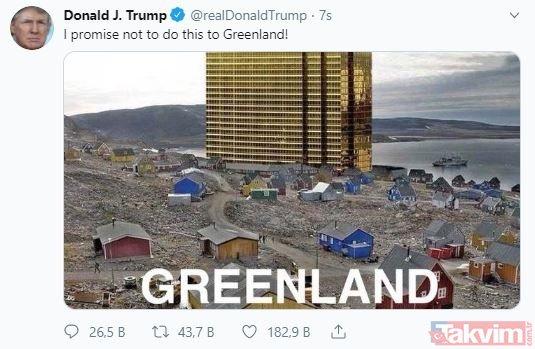 ABD Başkanı Trump'ın satın almak istediği ada! Dünyanın en büyüğü...