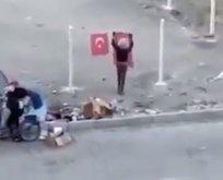 Türk bayrağı sevgisi sosyal medyada gündem oldu