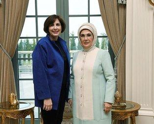 Emine Erdoğan, Elizabeth Fritschle ile bir araya geldi