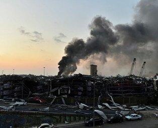 """THY'den Beyrut'taki patlamayla ilgili açıklama: """"Uçuşları engelleyecek bir durum yok"""