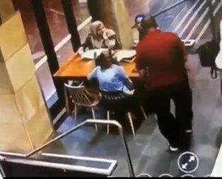 Başörtülü hamile kadına alçak saldırı!