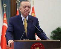 Başkan Erdoğan'dan 'Erbakan' telgrafı