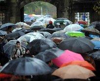 Sakın şemsiyesiz çıkmayın! 41 ile yağış uyarısı