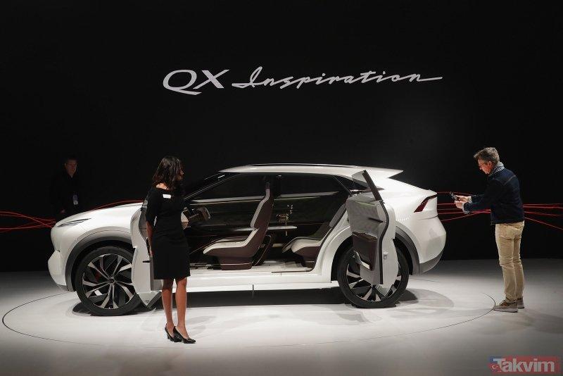 Infiniti QX Inspiration Concept ortaya çıktı! İşte Infiniti QX Inspiration Concept'ten ilk görüntüler...