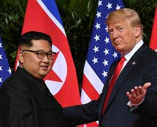 Beyaz Saray duyurdu! Trump ile Kim Jong-Un...