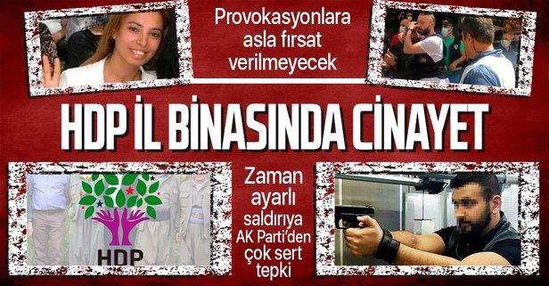 İzmir HDP il binasında zaman ayarlı cinayet!
