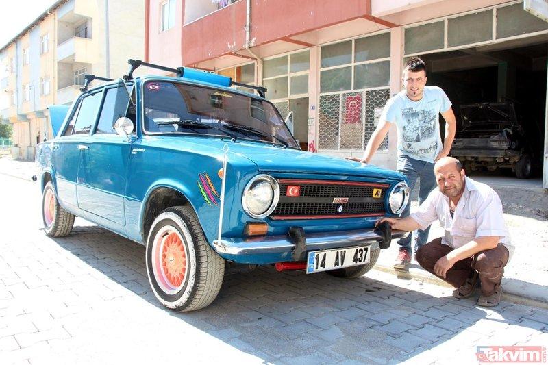 Murat 124'ü 200 bin TL'ye satmadı! Görenleri şoke ediyor