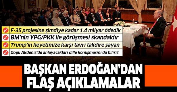 Başkan Erdoğan'dan BM'ye tepki