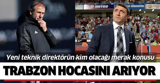 Trabzonspor hocasını arıyor!