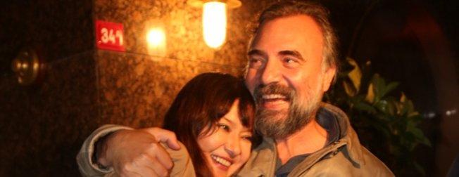 Nurgül Yeşilçay ile Eşkıya Dünyaya Hükümdar Olmaz'ın Hızır'ı Oktay Kaynarca'dan şaşırtan buluşma: Yazın evleneceğiz!