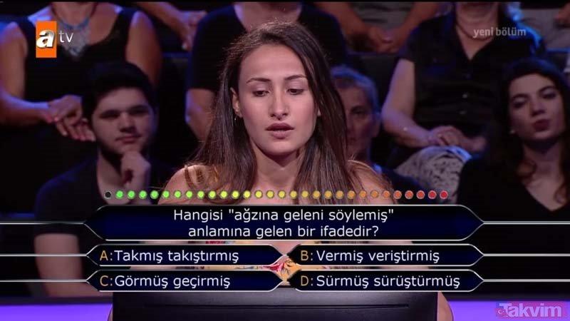 Kim Milyoner Olmak İster? 769. Bölüm soru ve cevapları