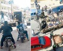 Afrin'de insanlık dersi