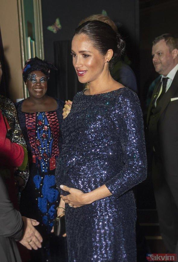 İngiliz Kraliyet Ailesi'ne şok! Merhan Markle'ın bebeği engelli mi doğacak?