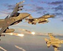 İHA'lar gördü F-16'lar vurdu