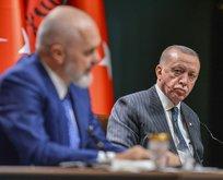 Başkan Erdoğan'ın mesaisi... Rama'yı kabul etti