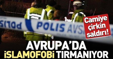 Son dakika: İsveç'te camiye silahlı saldırı