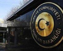 Türkiyeden Yunanistana kararname tepkisi