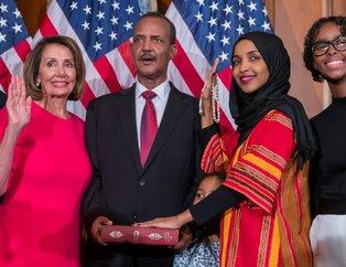 ABD'li Müslüman kongre üyeleri Kur'an'a el basarak yemin etti