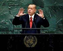 Erdoğandan BM Zirvesinde kritik açıklamalar