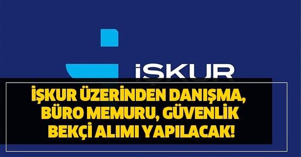 İŞKUR yeni personel ve işçi alımı ilanları duyuruldu!