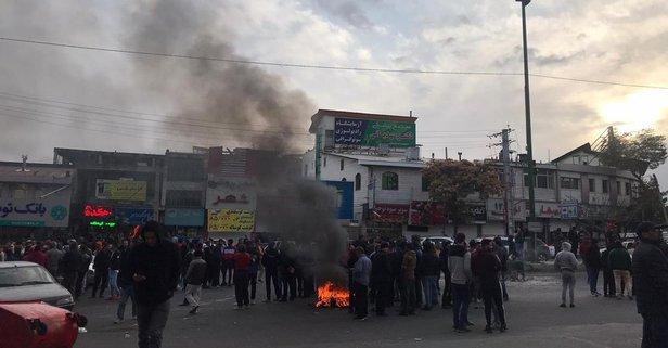 İran sokak olaylarıyla ilgili o ülkeyi suçladı