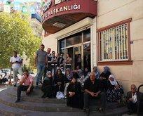 HDP önündeki eylem büyüyor!