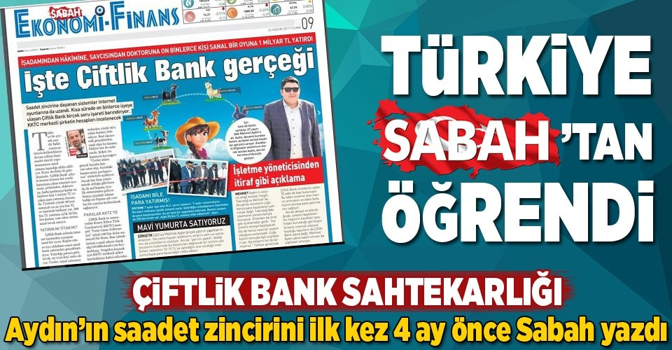Türkiye SABAH'tan öğrendi