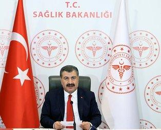 Son dakika: Sağlık Bakanı Fahrettin Koca, 31 Ekim'deki hasta ve vefat sayılarını açıkladı