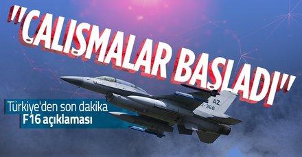 Bakan Akar'dan son dakika F16 tedariği açıklaması