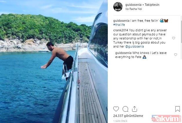 Şeyma Subaşı ile birlikte olduğu iddia edilen Fransız DJ Guido Senia sessizliğini bozdu! Instagram'dan ceap verdi...