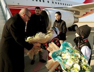 Cumhurbaşkanı Recep Tayyip Erdoğan'ı Ordu'da böyle karşıladılar