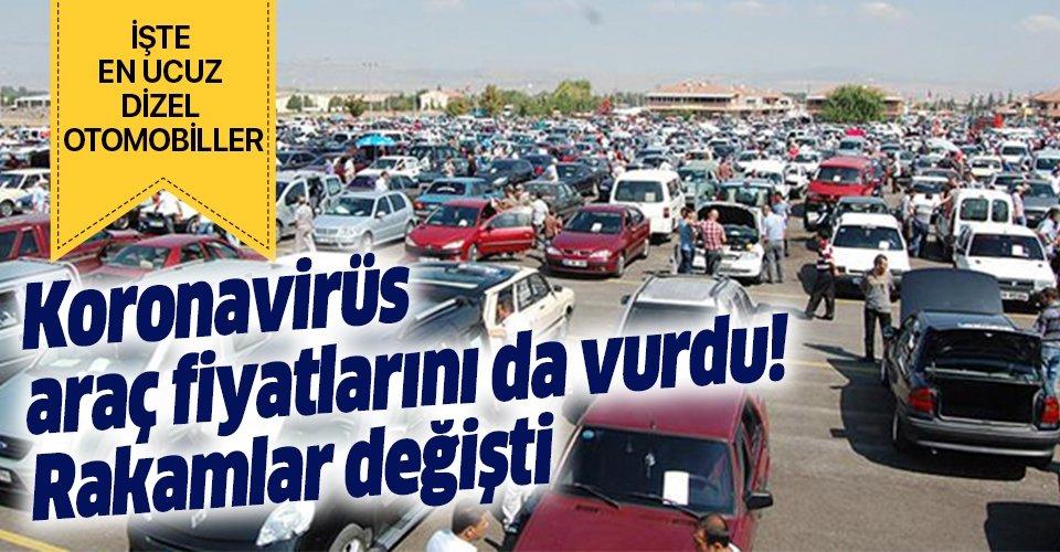 20 Mayıs sahibinden en ucuz ikinci el araba modelleri! 35 bin ve 40 bin TL arasındaki 2.el dizel otomobiller hangileri?