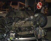 Fenerbahçe tesisleri önünde kaza