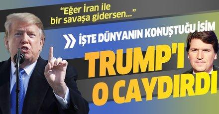 Dünya onu konuşuyor! İşte Trump'ı İran'a saldırma kararından caydıran isim