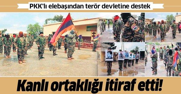 Terörist elebaşından Ermenistan itirafı