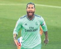 Ramos'a çalım attı