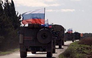 Rusya, Suriye'nin kuzeyinde ilk devriyesini yaptı
