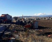Burdur'da feci kaza! Araçlar birbirine girdi