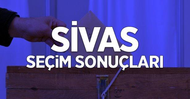 31 Mart Sivas yerel seçim sonuçları