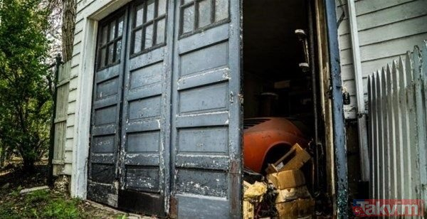 Satın aldığı evin garajından çıkanla hayatının şokunu yaşadı!