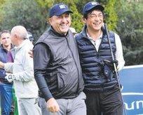 Mevlüt Çavuşoğlu golf turnuvasında