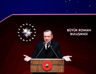 Cumhurbaşkanı Erdoğan Beştepede Romanlarla buluştu!