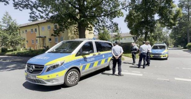 Almanya'da silahlı saldırı! Can kayıpları var