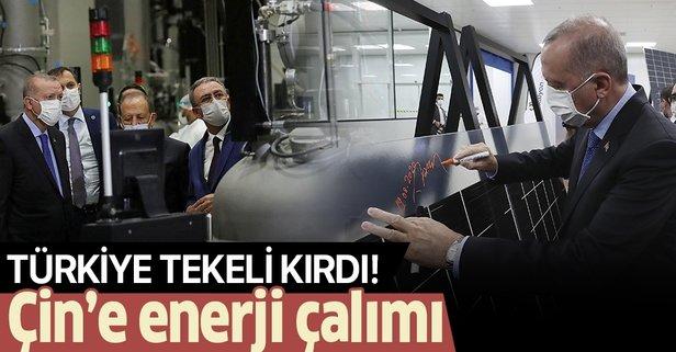 Türkiye enerjide Çin tekelini kırdı