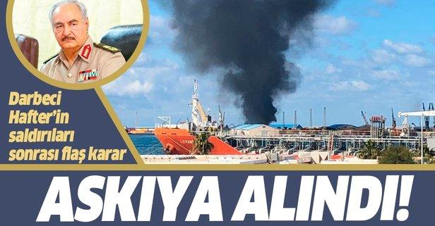 Libya Ulusal Mutabakat Hükümeti'nden flaş karar!