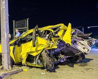 İstanbulda akılalmaz kaza!