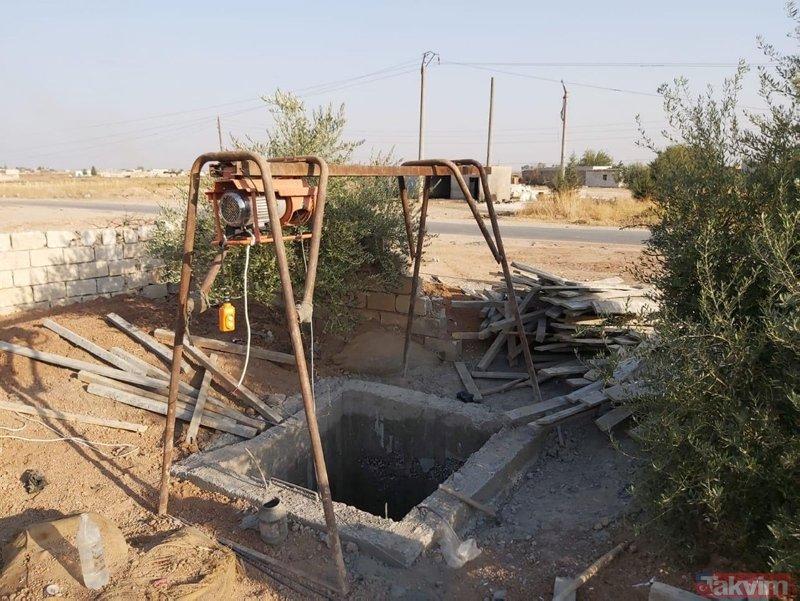 YPG/PKK'lı teröristlere ait tünel Türkiye sınırında bulundu! 4 metre aşağı iniliyor ve...