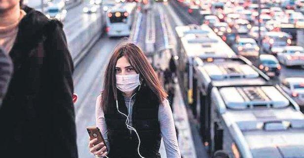 Toplu taşımada maske şart oldu