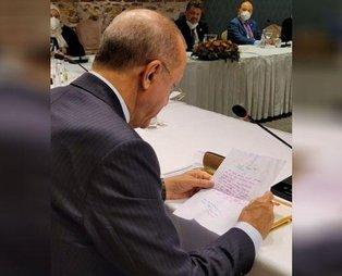 İletişim Başkanı Fahrettin Altun paylaştı: 9 yaşındaki Sena'dan Başkan Recep Tayyip Erdoğan'a mektup