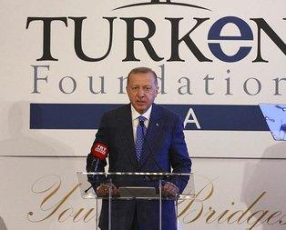 Başkan Erdoğan'dan ABD'de FETÖ mesajı